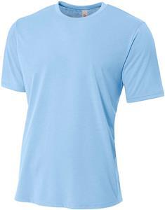 A4 Adult Spun Poly T-Shirts