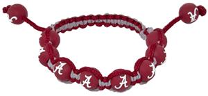 Eagles Wings NCAA Alabama Bead Bracelet