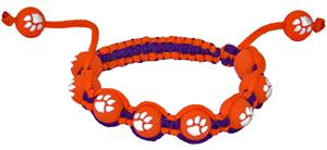 Eagles Wings NCAA Clemson Bead Bracelet