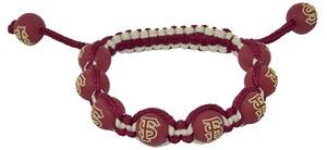 Eagles Wings NCAA Florida State Bead Bracelet