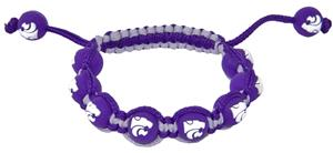 Eagles Wings NCAA Kansas State Bead Bracelet
