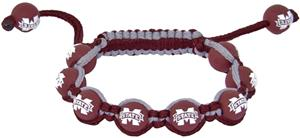 Eagles Wings NCAA Mississippi State Bead Bracelet