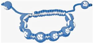 Eagles Wings NCAA North Carolina Bead Bracelet
