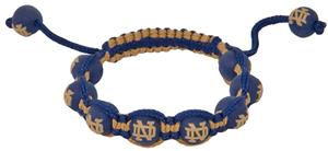 Eagles Wings NCAA Notre Dame Bead Bracelet