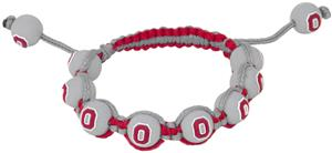 Eagles Wings NCAA Ohio State Bead Bracelet