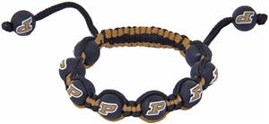 Eagles Wings NCAA Purdue Bead Bracelet