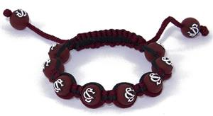 Eagles Wings NCAA South Carolina Bead Bracelet