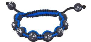 Eagles Wings NFL Carolina Panthers Bead Bracelet