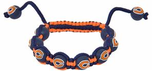 Eagles Wings NFL Chicago Bears Bead Bracelet