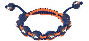 Eagles Wings NFL Denver Broncos Bead Bracelet