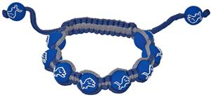 Eagles Wings NFL Detroit Lions Bead Bracelet