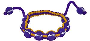 Eagles Wings NFL Minnesota Vikings Bead Bracelet