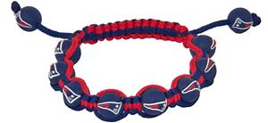 Eagles Wings NFL NE Patriots Bead Bracelet