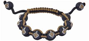 Eagles Wings NFL New Orleans Saints Bead Bracelet