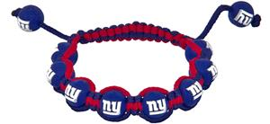 Eagles Wings NFL New York Giants Bead Bracelet