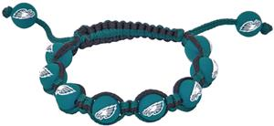 Eagles Wings NFL Philadelphia Eagles Bead Bracelet