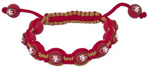 Eagles Wings NFL San Francisco 49ers Bead Bracelet