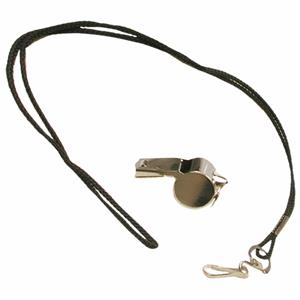 Adams Sport Officials/Coaches Whistle w/Lanyard