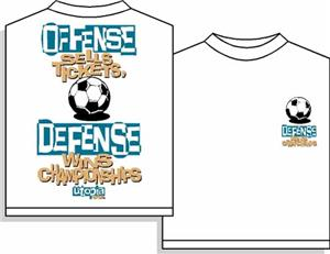 Utopia Defense Wins Soccer T-shirt