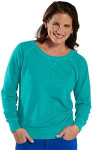 LAT Sportswear Ladies French Terry Slouchy
