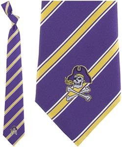 Eagles Wings NCAA East Carolina Pirates Tie