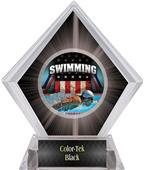 Hasty Awards Black Diamond Swimming Ice Trophy