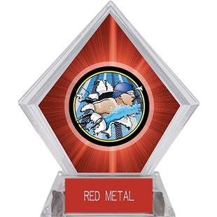 Hasty Awards Red Diamond Swimming Ice Trophy