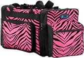 Pizzazz Zebra Print Multi-Sport Travel Bag