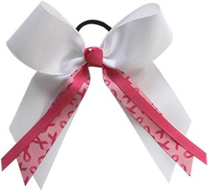 Pizzazz Awareness Bow with Streamer Ribbons