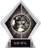 Hasty Awards Black Diamond Lacrosse Ice Trophy