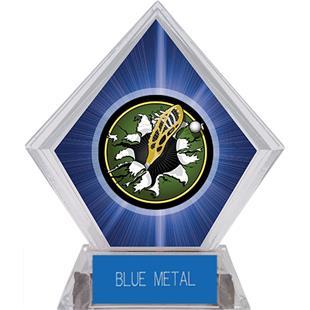 Hasty Awards Blue Diamond Lacrosse Ice Trophy