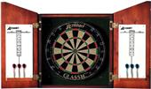 Accudart Union Jack Solid Wood Dartboard Cabinet