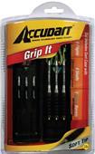 Accudart Grip It Steel or Soft Tip Dart Set