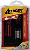 Accudart Steel or Soft Tip Double In Dart Set