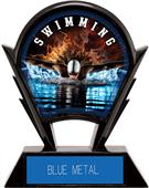 "Hasty Awards 6"" Stealth Swimming Resin Trophy"