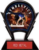 "Hasty Awards 6"" Stealth Male Gymnastics Trophy"