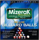 Mizerak Deluxe Billiard Balls