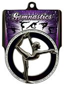 "Hasty Awards 2.75"" Pinnacle Gymnastics Medals"