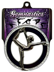 "Hasty Awards 2.75"" Pinnacle Gymnastics Medals"