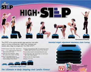 The Step Fitness High Step