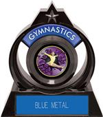 "Eclipse 6"" Gymnastics Purple Burst-Out Trophy"
