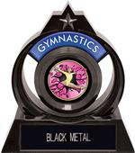 "Eclipse 6"" Gymnastics Pink Burst-Out Trophy"