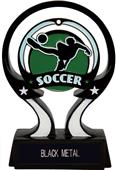 "Hasty Awards 6"" Glow in the Dark Soccer Trophy"