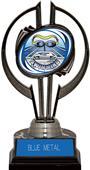 """Black Hurricane 7"""" HD Swimming Trophy"""