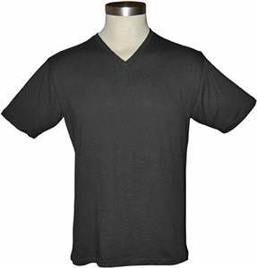 Trecento Mens Short Sleeve V-Neck Tee