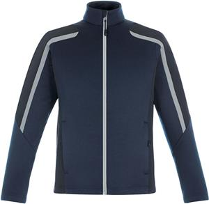 North End Mens Strike Color-Block Fleece Jacket