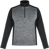 North End Mens Conquer Interlock Half-Zip Top