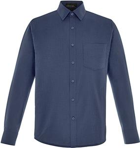North End Mens Paramount Twill Checkered Shirt