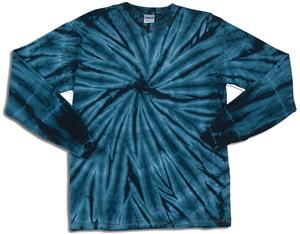 Boxercraft Cyclones Long Sleeve Tie Dye T-Shirts