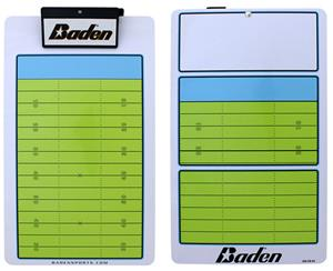 Coaches Dry-Erase Game Board Football